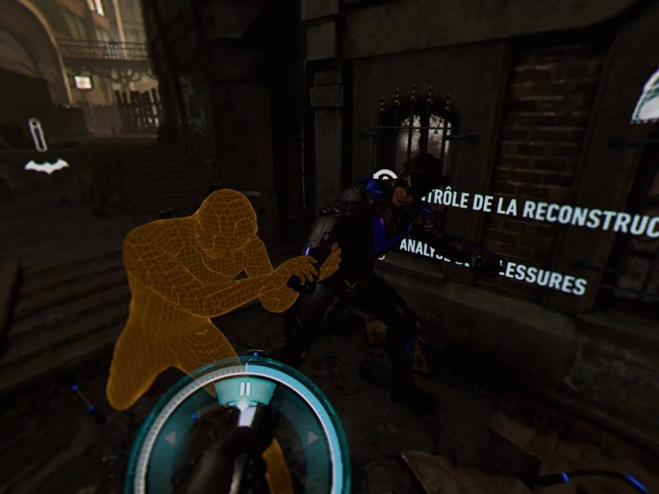 Arkham VR Reconstitution