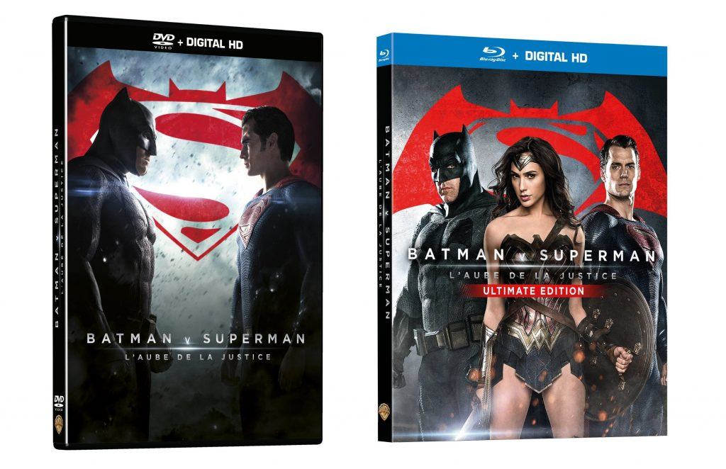 Batman V Superman DVD Blu-Ray