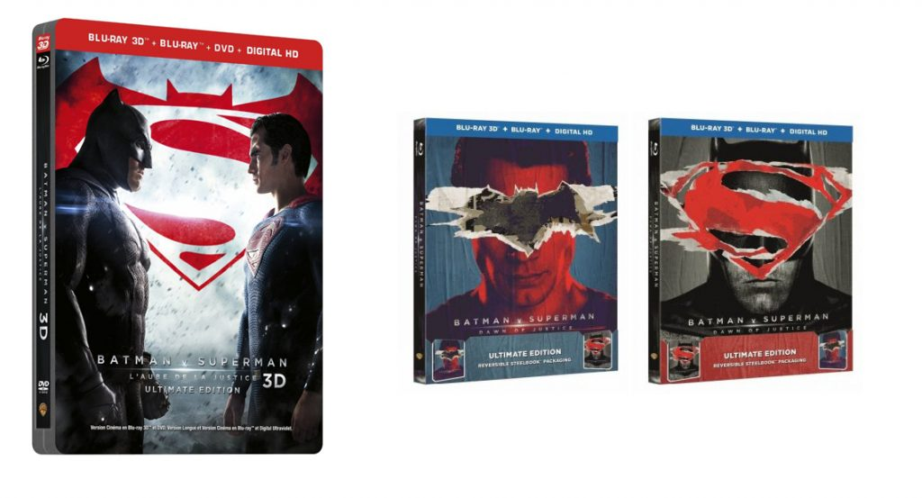Batman V Superman Steelbook