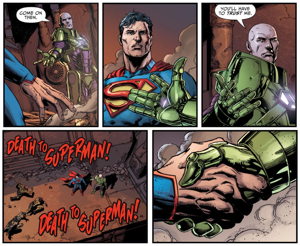 Darkseid War Superman Lex Luthor