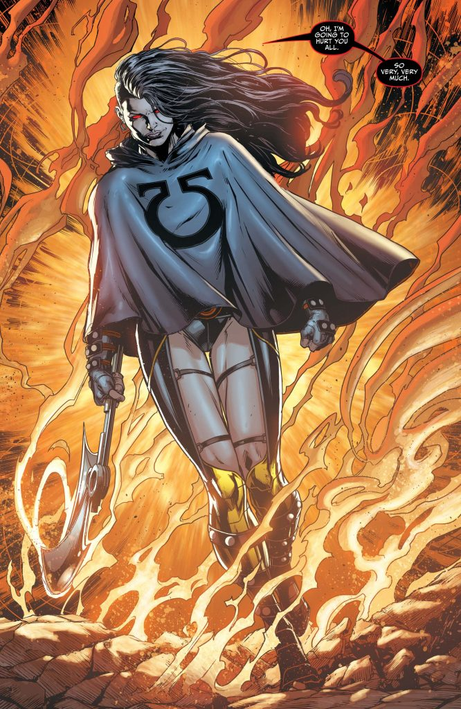 Graal Darkseid War