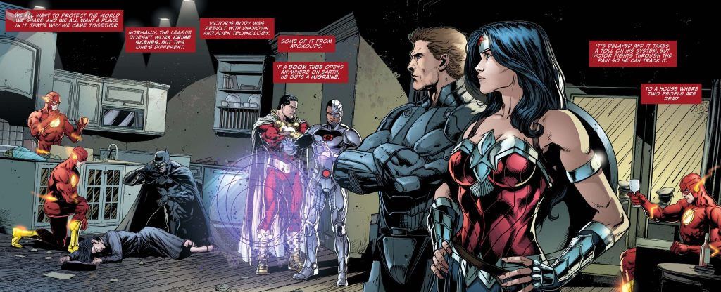 Justice League Darkseid War