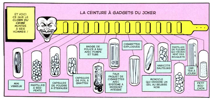 La ceinture à gadgets du joker