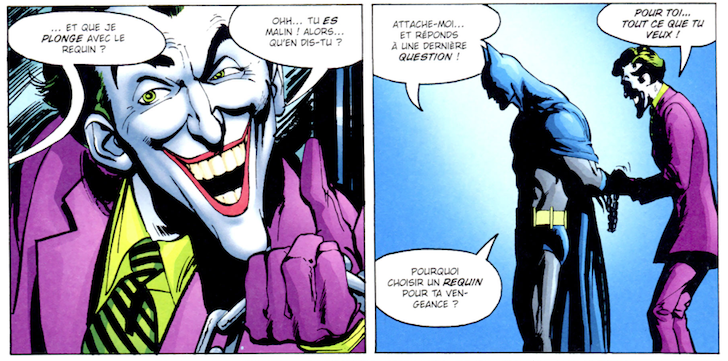cinq vengeances du joker
