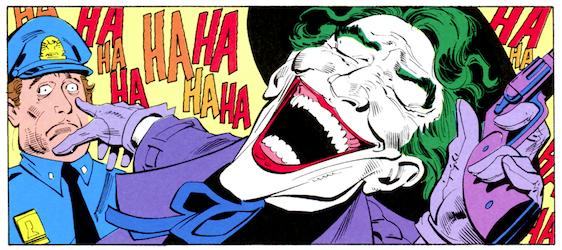le choc des symboles joker