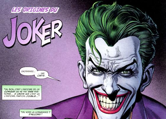 origine du joker