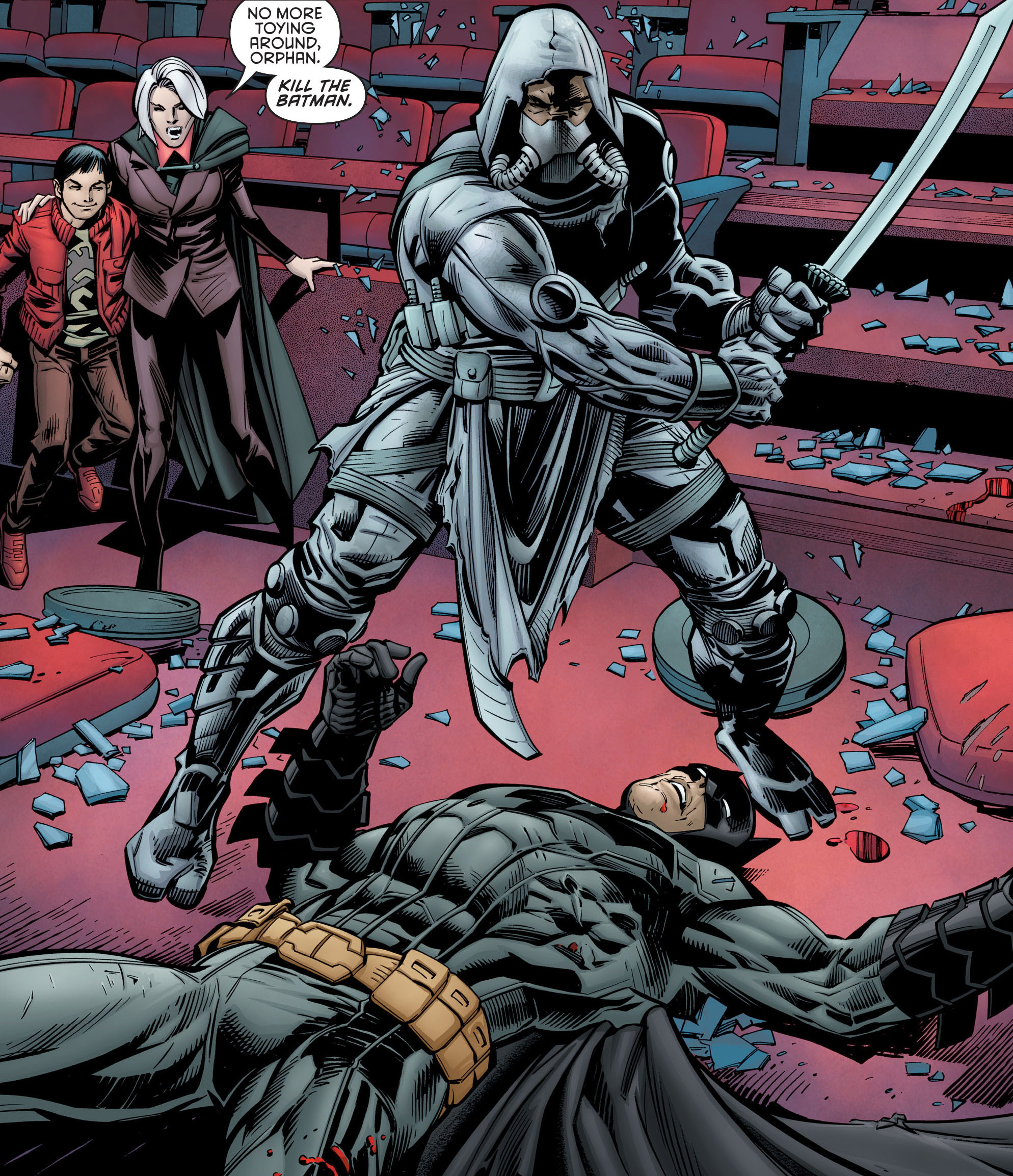 Batman & Robin Eternal Cain