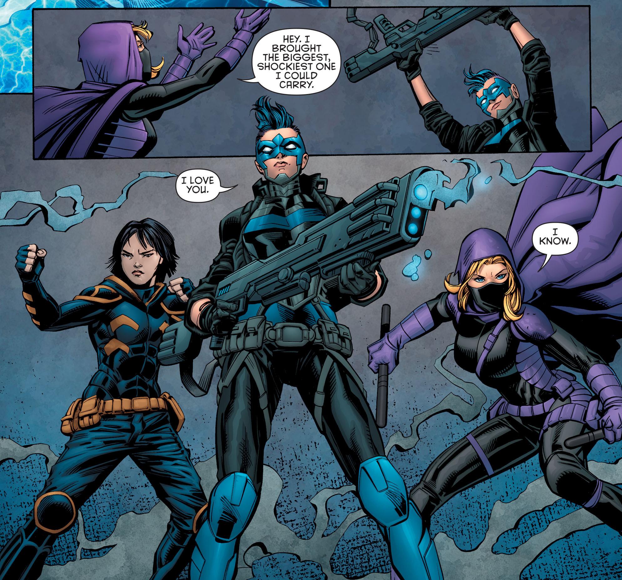 Batman & Robin Eternal Cassandra Cain Sialia Bluebird Spoiler
