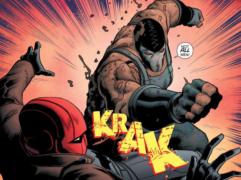 Batman & Robin Eternal Red Hood Bane