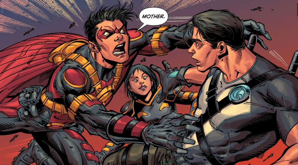 Batman & Robin Eternal Red Robin Dick