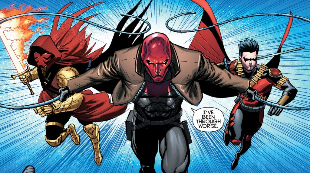 Batman & Robin Eternal Red Robin Red Hood Azrael