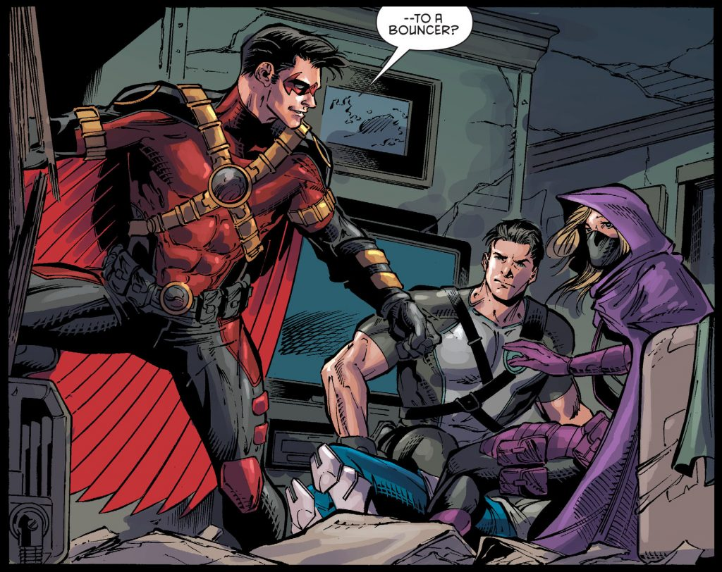 Batman & Robin Eternal Red Robin Spoiler Dick