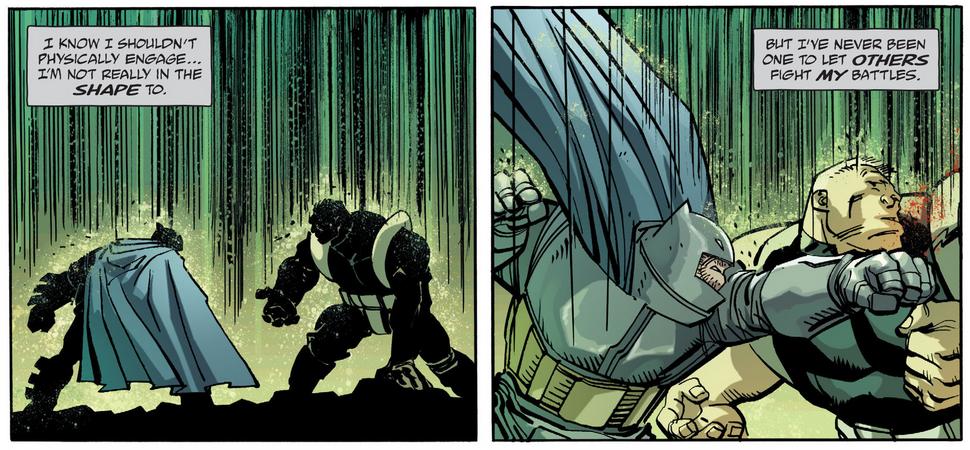 DK III Batman Fight