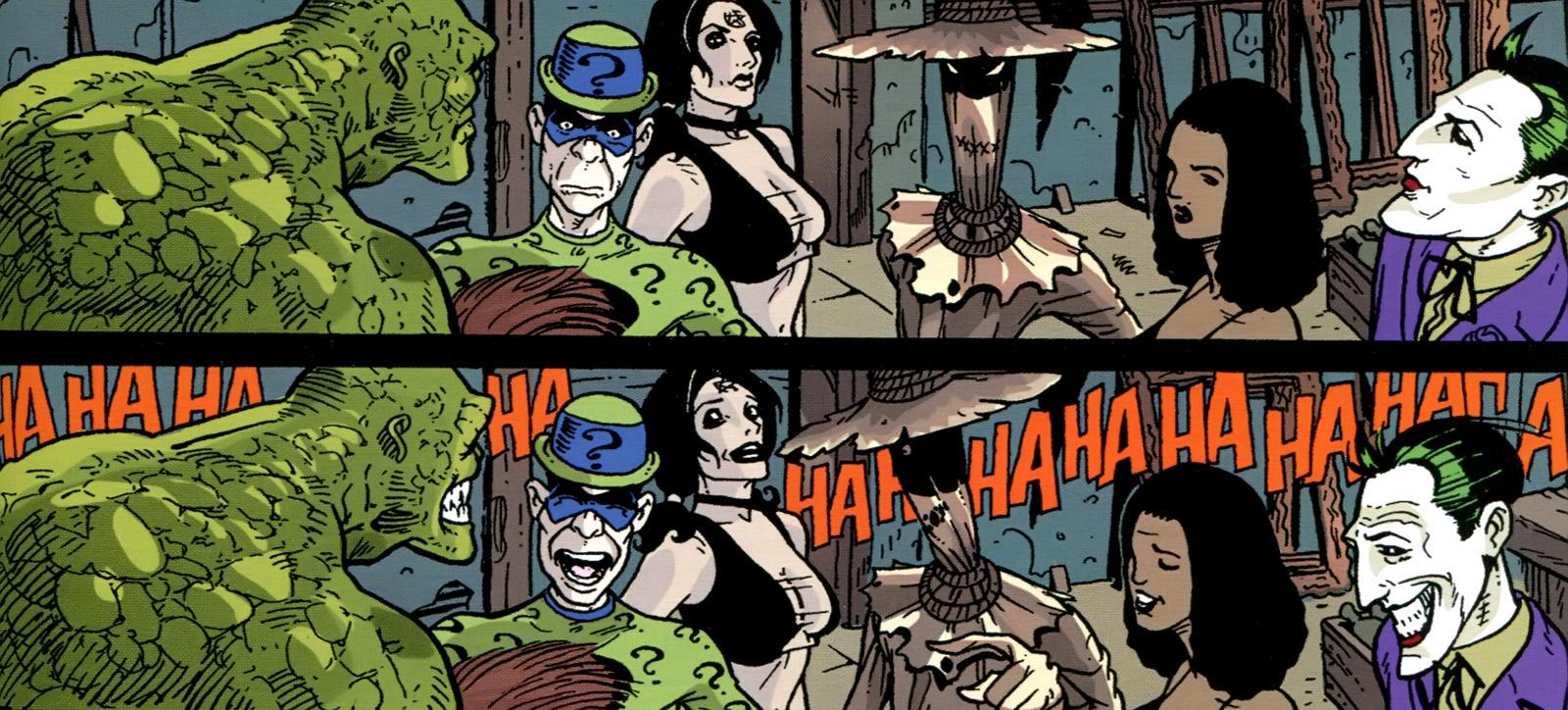 Batman Cataclysme Joker Vilains
