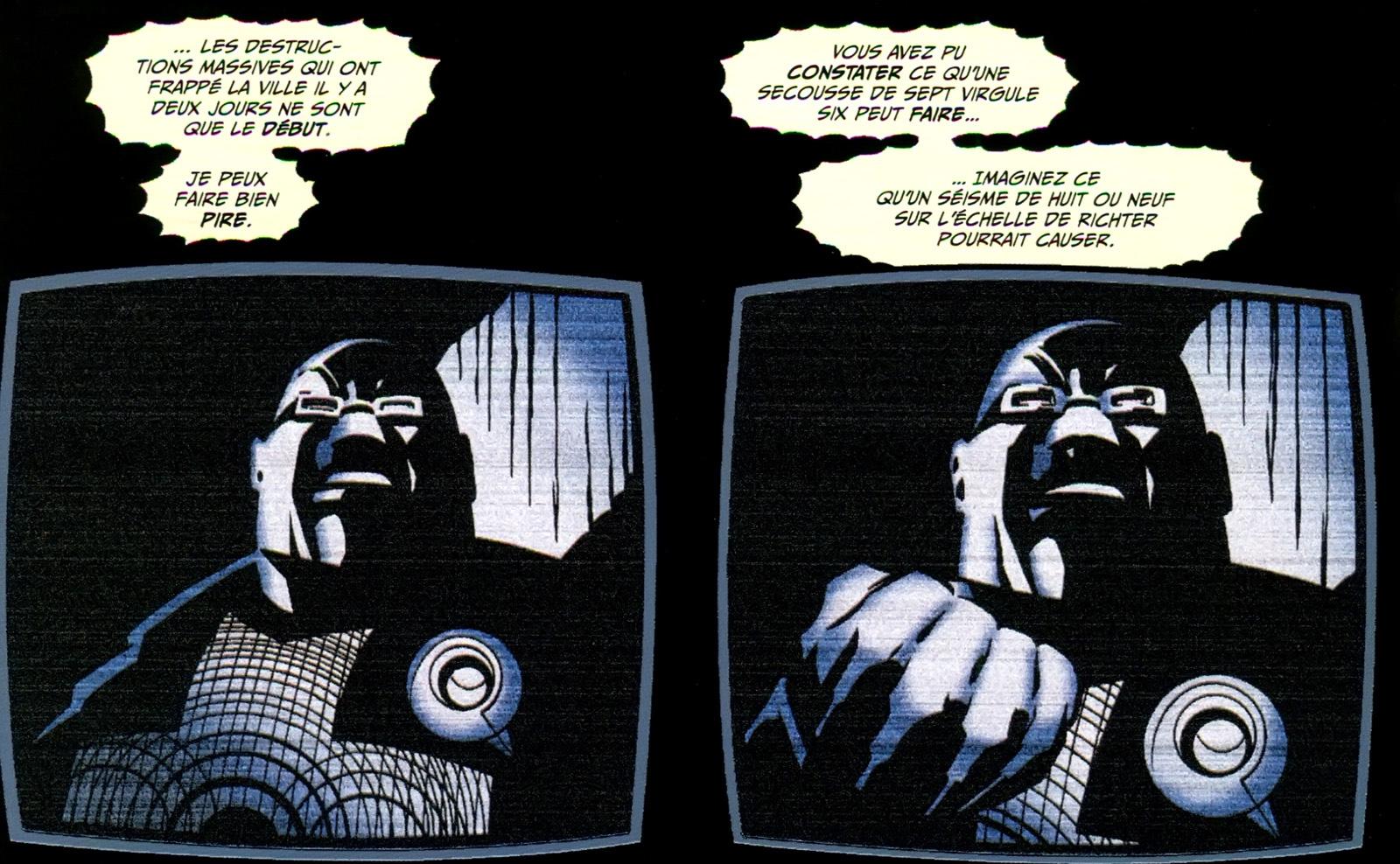 Batman Cataclysme Maitre Secousses