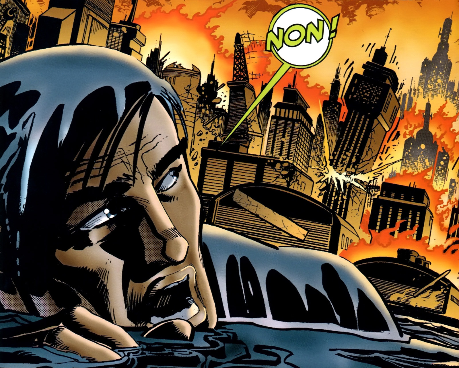 Batman Cataclysme Wayne