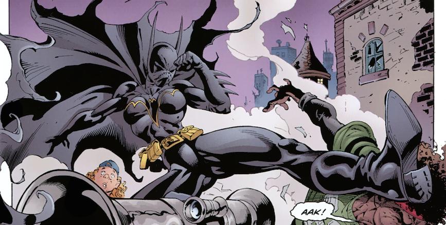 Batgirl No Mans Land