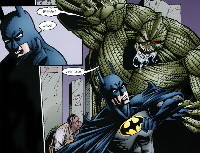 Batman Killer Croc