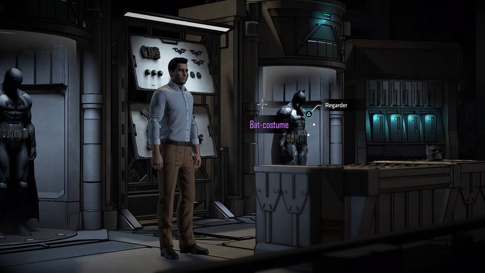Batman Telltale Batcave