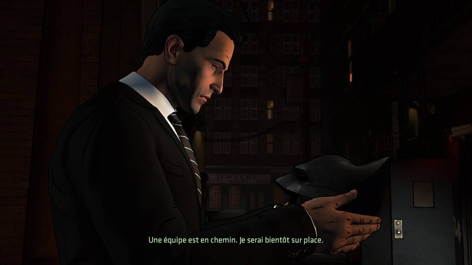 Batman Telltale Bruce Masque