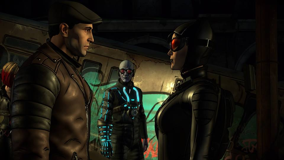 Batman Telltale Freeze Catwoman