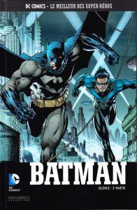 Couverture Batman Eaglemoss Silence