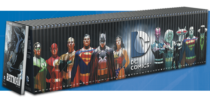 fresque eaglemoss dc comics