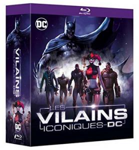 Les Vilains iconiques DC Blu Ray