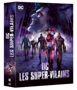 Les Vilains iconiques DC DVD