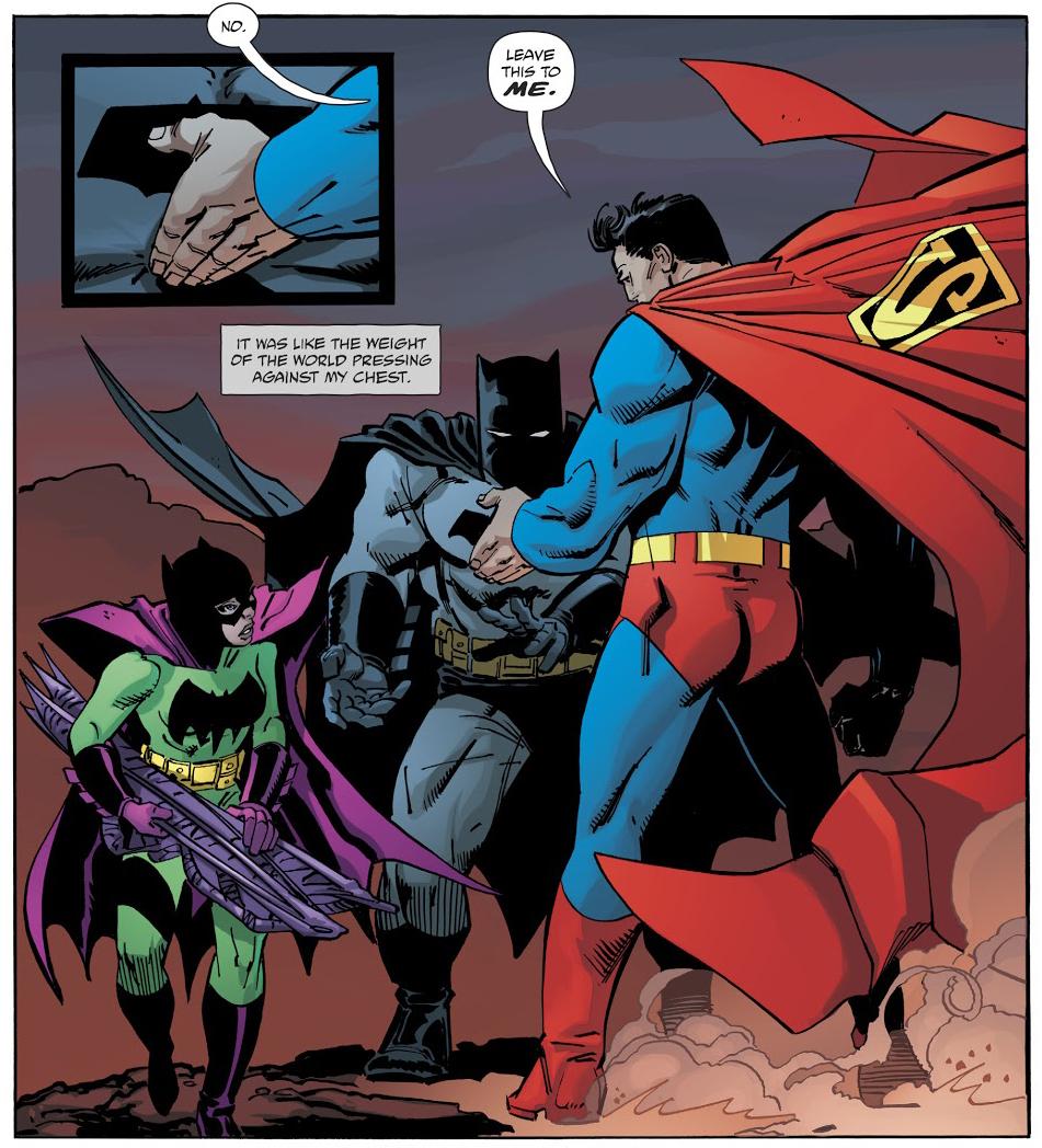 DK3 Batgirl Batman Superman