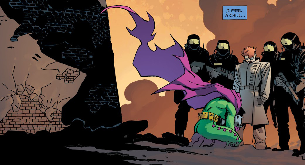 DKIII Batman Dead Batgirl