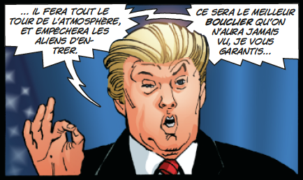 Trump Dark Knight