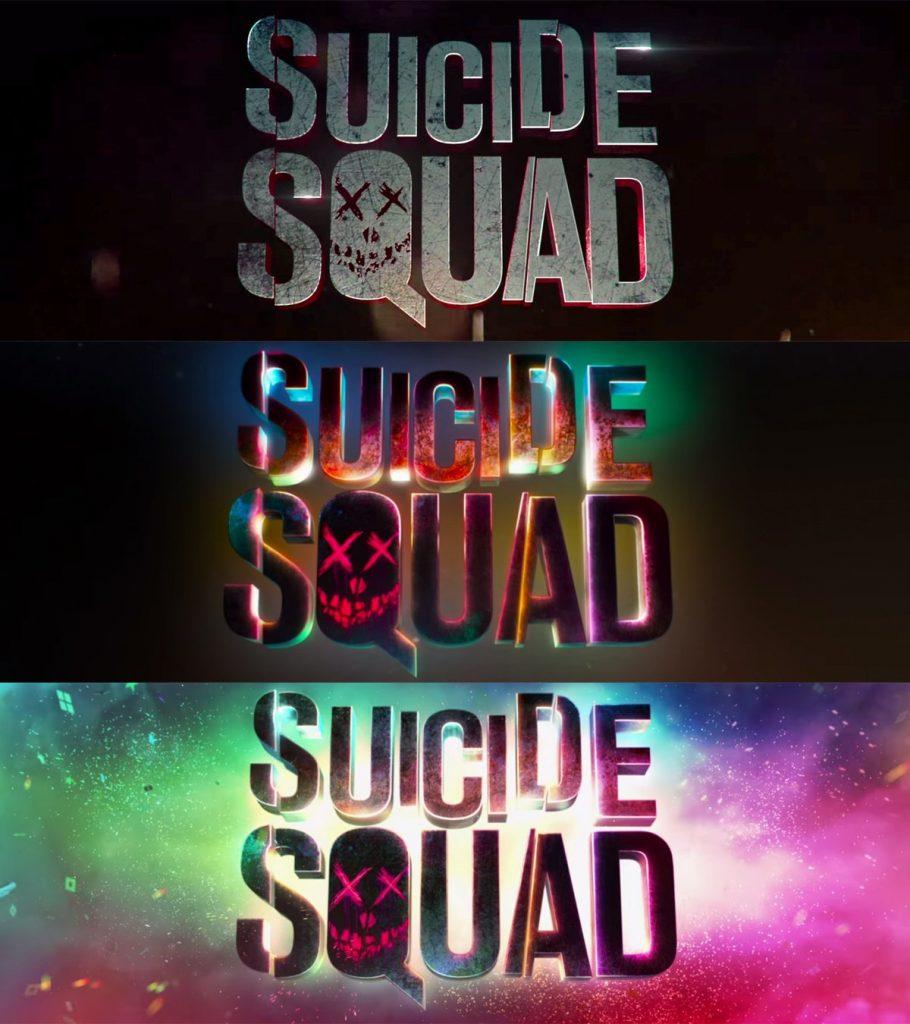 evolution logo Suicide Squad