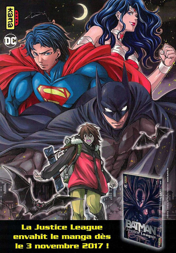 Batman & the Justice League Manga