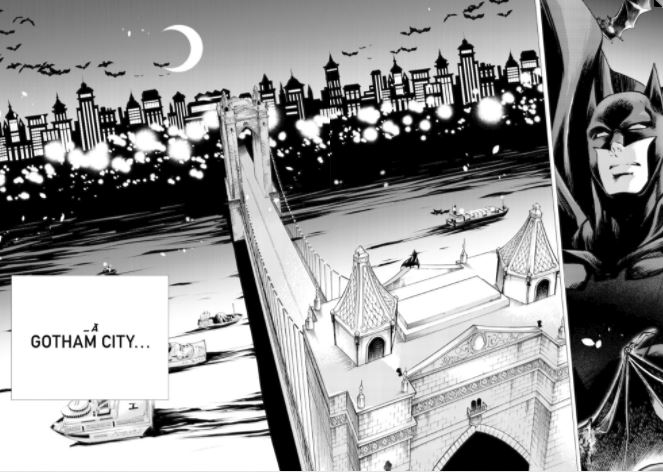 Manga Batman Gotham City