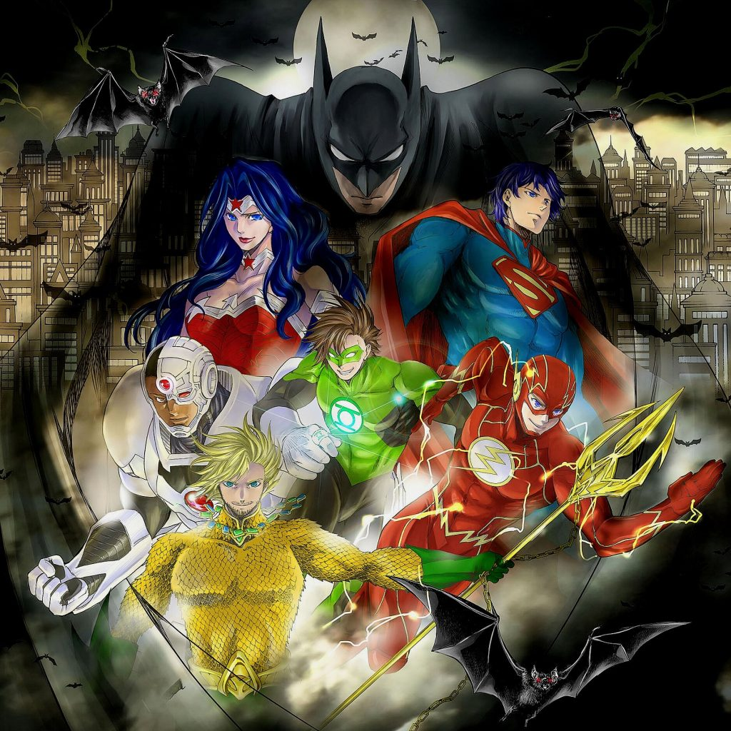 Manga Batman & the Justice League
