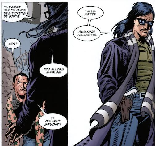 Batman Malone l'allumette