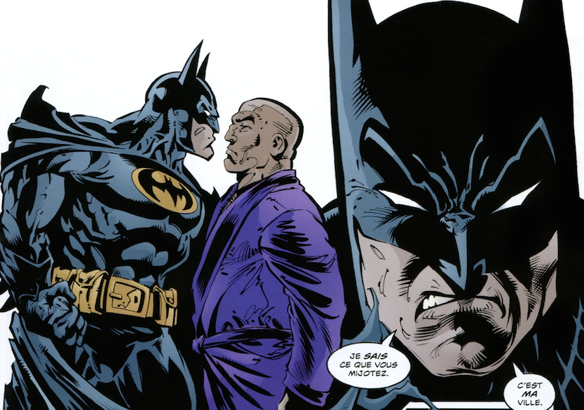Batman vs Luthor