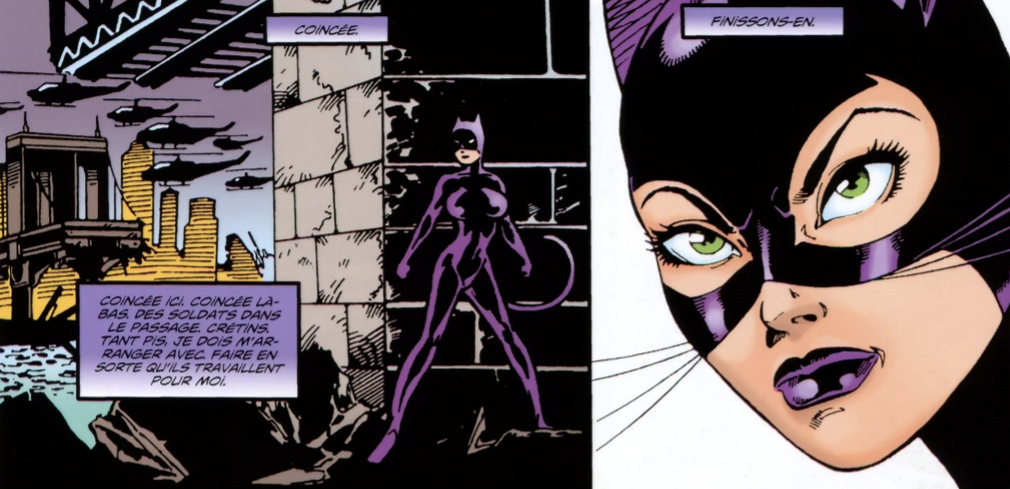 Catwoman no mans land