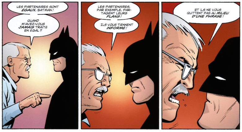 Gordon VS Batman