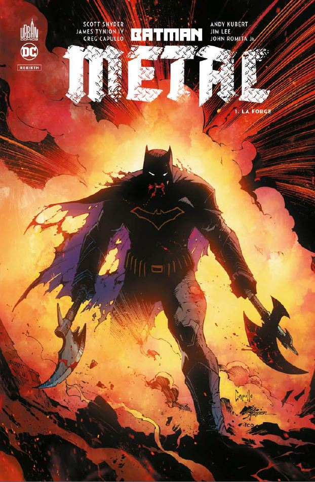 Batman Metal La Forge Tome 1