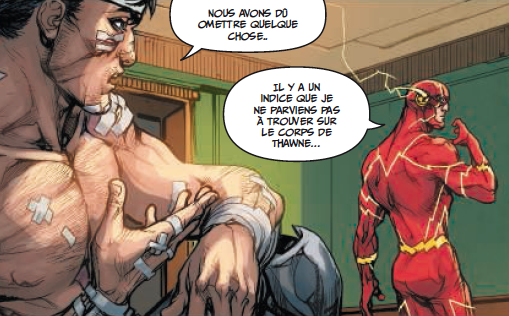 Bruce Wayne Flash