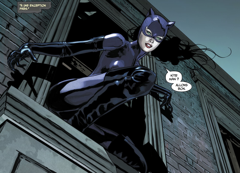 Catwoman Guerre énigmes