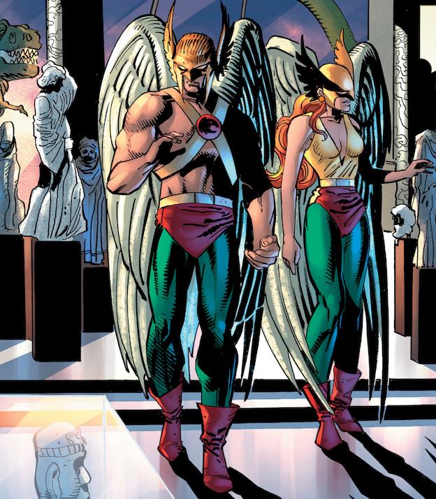Hawkman Hawkgirl