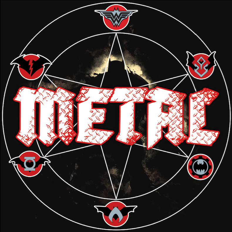 Logo Batman Metal