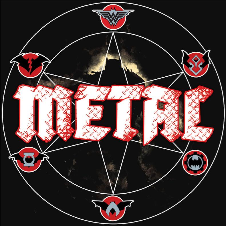 Logo Batman Metal