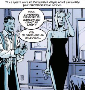 Sasha Bordeaux Bruce Wayne